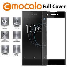 Защитное стекло Mocolo 2.5D 9H на весь экран для Sony XA1 Plus черный