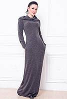 Платье длинное  -Chelsea- графит