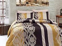 Комплект постельного белья First Choice Satin Cotton Евро Kavin-gold