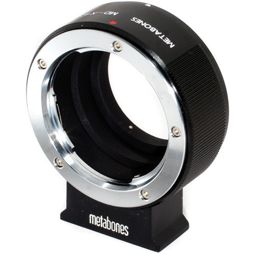 Metabones Minolta MD Mount Lens to Fujifilm X-Mount Camera Lens Mount Adapter (Black Matte) (MB_MD-X-BM1)