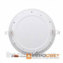 Світильник Евросвет LED-R-225-18 18Вт 4200К круг встраиваемый, фото 3