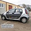 Молдинги на двери Smart ForFour 2004-2006
