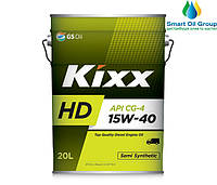 Моторное масло для дизельных двигателей KIXX HD CG-4 15W-40 20л
