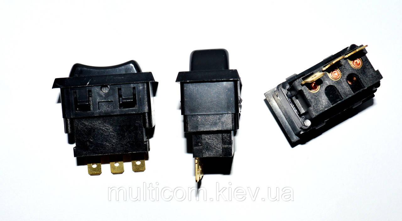 11-05-152. Переключатель ASW-06-102 (ON-ON), 3pin, 12V, 20А, чёрный