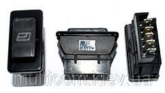 11-03-02. Переключатель cтеклоподъёмника с подсветкой ASW-02D, 12В, 20А