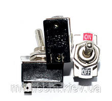 11-00-501. Тумблер KN3-1 (ON-OFF), 2pin, 4А-125V/2A-250V