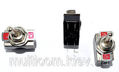 11-01-02. Тумблер KN3-2 (ON-ON), 4pin, 2A 250VAC