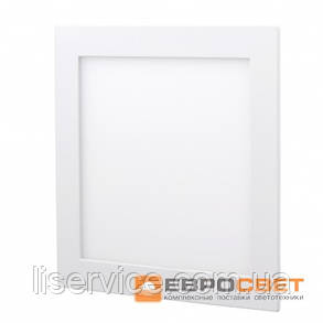 Світильник Евросвет LED-S-150-9 9Вт 4200К квадрат встраиваемый, фото 2
