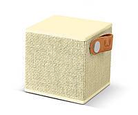 Акустическая система (портативная) Fresh 'N Rebel Rockbox Cube Fabriq Edition Bluetooth Speaker Buttercup (1RB1000BC)