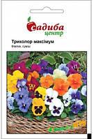 "Семена Фиалка ""Триколор максимум"", 0.05 г, ""Садиба Центр"", Украина"