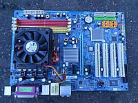Gigabyte GA-M55plus-S3G (Rev.1.2) Socket AM2/AM2+/AM3 + процессор AMD Athlon X2 5600+ (2x2.8GHz) Box