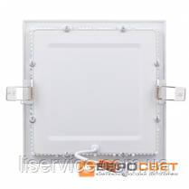 Світильник Евросвет LED-S-150-9 9Вт 4200К квадрат встраиваемый, фото 3