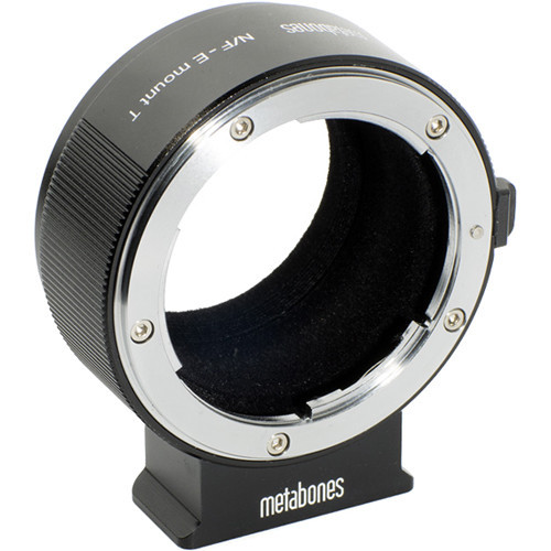 Metabones Nikon F Lens to Sony E-Mount Camera T Adapter II (Black) (MB_NF-E-BT2)