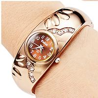 Часы браслет золотистые