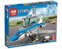 Конструктор Lepin 02043 Город Пассажирский терминал в аэропорту (аналог Lego City 60104)