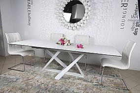 Стол обеденный FLEETWOOD белый(керамика) (Nicolas TM)