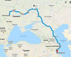 Перевозка из Украины в Иран оборудования для производства алкоголя