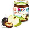 Пюре HiPP Сливы с яблоками, 125 г