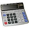 Калькулятор бухгалтерский, 12-разрядный sharp el-2136, двойное питание, пластиковые высокие клавиши