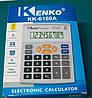 Калькулятор музыкальный kenko kk-6160a, настольный, простой, питание от батарейки, 8 разрядов