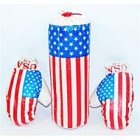 Боксерский набор USA BX 068-45 USA мал. размер. 38*14 см