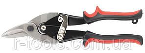 Ножницы по металлу 250 мм правые обрезиненные рукоятки MTX 783329