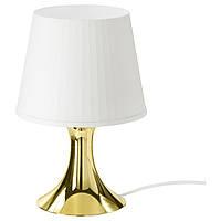 IKEA LAMPAN Настольная лампа, золотой цвет  (703.424.39)