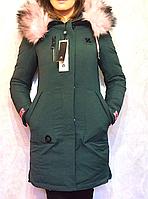Женская зимняя куртка парка