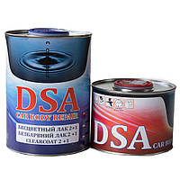 Лак акриловый DSA 2+1 с отвердителем (1л+0,5л)