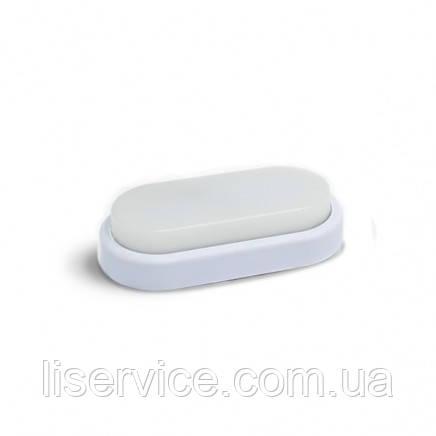 Світильник світлодіодний Евросвет 12Вт овал CL-303 6400K IP65
