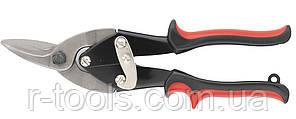 Ножницы по металлу 250 мм левые обрезиненные рукоятки MTX 783349