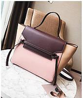Стильная женская сумка Сeline Belt bag бежевого цвета