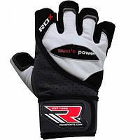Мужские перчатки для спортзала RDX Pro Lift Gel