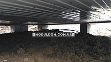 Мобильный дачный домик (6 х 5 м.), два модуля, фото 3