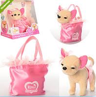 Собачка Кики в сумке 22 см оптом купить в Одессе 7 км