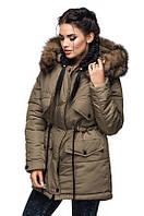 Стеганная куртка-парка 505