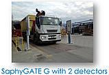 SaphyGATE G система радиационного радиометрического контроля грузовых авто и ж/д, отходов, портальный монитор, фото 6