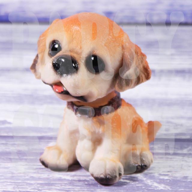 статуэтка щенок спаниель