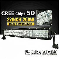 LED прожектор 5D Combo LUX ровная 200W/ 40led/ 570мм