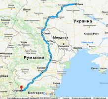 Перевозки мебели на выставку из Киева в Софию (ATA Carnet)
