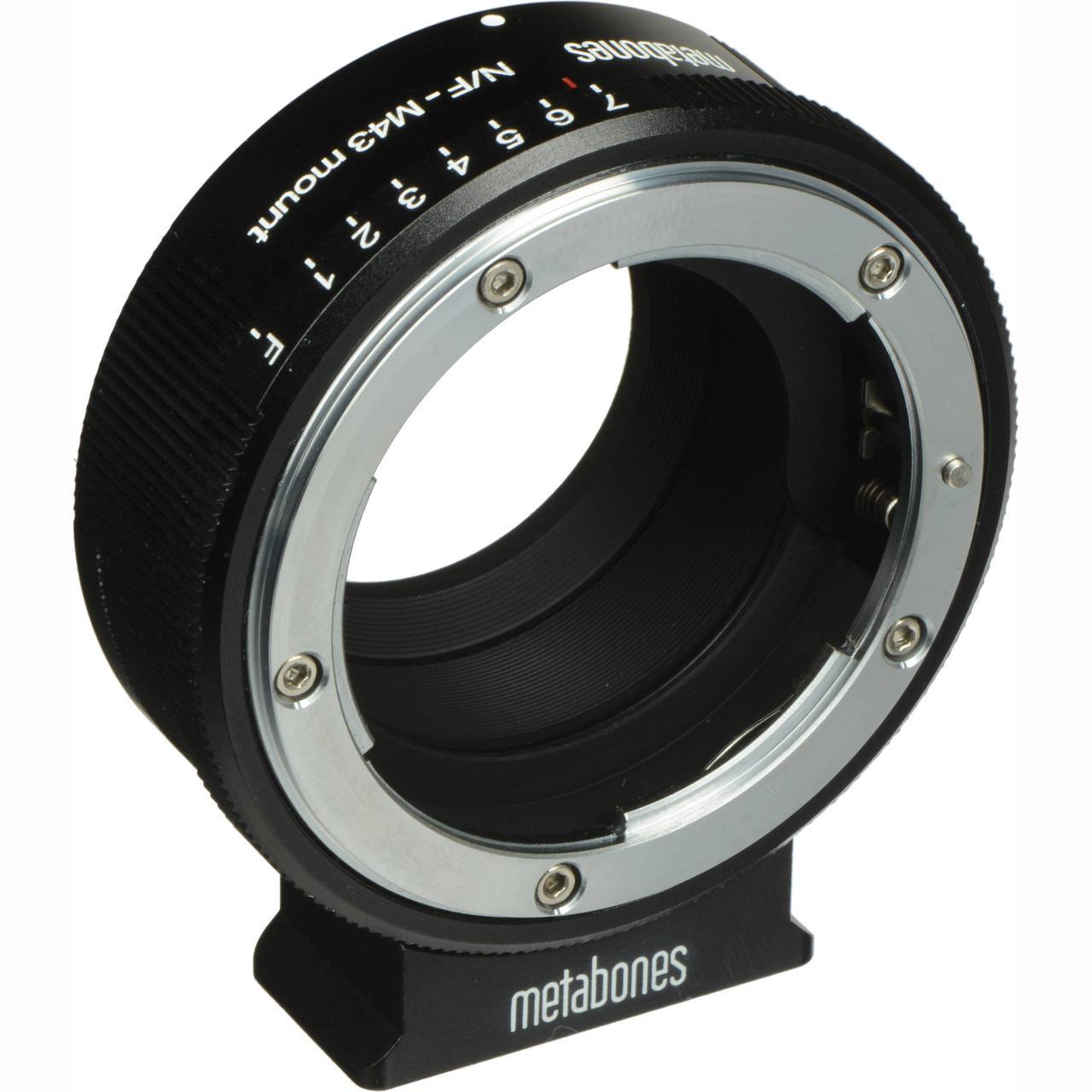 Metabones Nikon G Lens to Micro Four Thirds Lens Mount Adapter (Matte Black) (MB_NFG-M43-BM1)