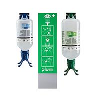Комбинированный комплект Plum Combi station DUO, 500 мл pH Neutral DUO и 1000 мл Plum eye wash DUO