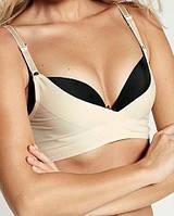 Бюстгальтер с пуш-ап эффектом, Эйвон, размер М (46-48), цвет телесный, Avon Body Illusion Bra Shaper, 97061