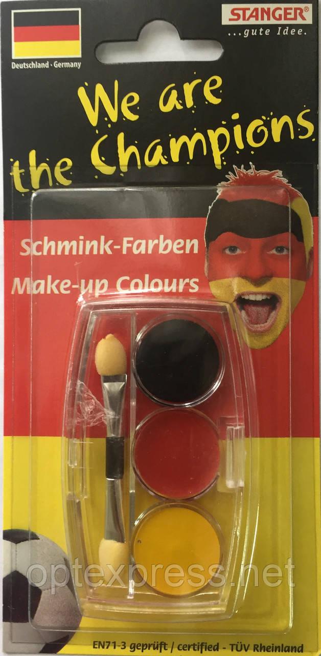"Набор сухих красок для лица ""Germany"" STANGER 960010"