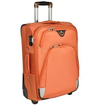 Картинка оранжевого чемодана