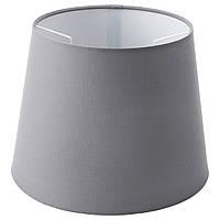 IKEA JARA Абажур, серый  (703.283.58)