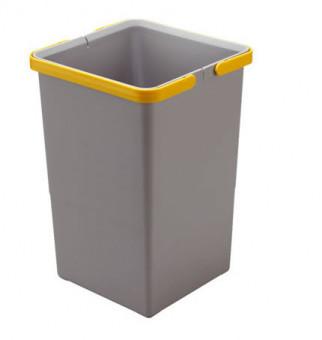 Відро для сміття з ручками COVER BOX 12 л, Elletipi Італія