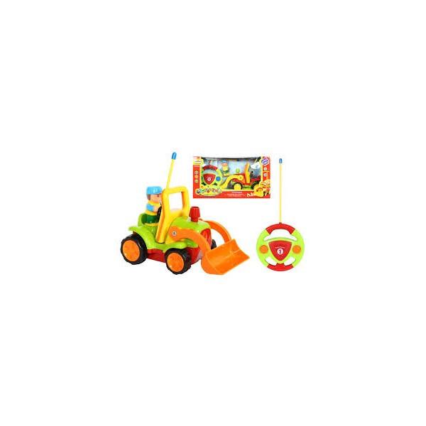Детская радиоуправляемая машина экскаватор трактор 6606
