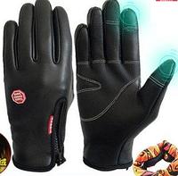 Женские зимние термо перчатки для горнолыжного спорта