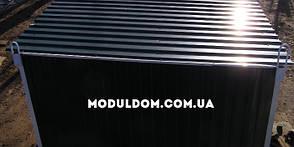 Вагончик генераторная (6 х 2.4 м.), на основе цельно-сварного металлокаркаса., фото 2
